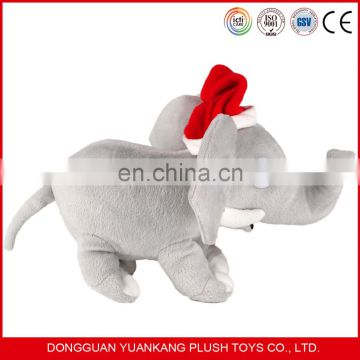 Christmas Gift plush and stuffed elephant pillow toys with big ears