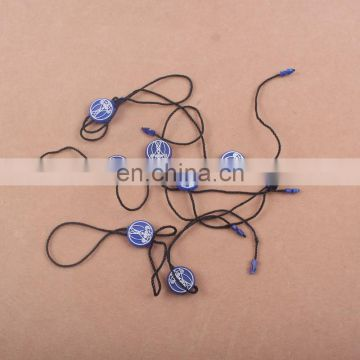 Top Quality Eco-friendly Wholesale Plastic Seal string tags,seal clips or hang tag string tablet
