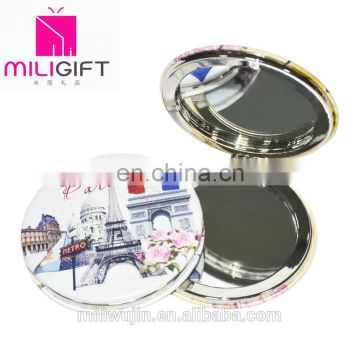 2016 small round pocket folding mirror