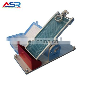 Hand Operation Roll Sphere Method Initial Adhesion Test Equipment