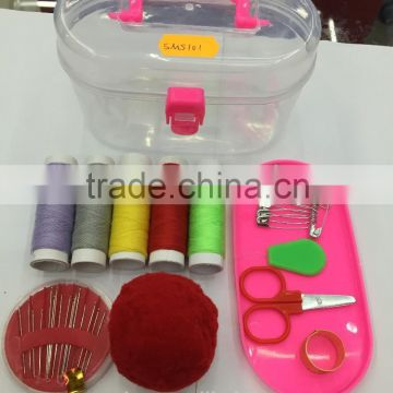 Hot china products wholesale rectangle polyester sewing kit