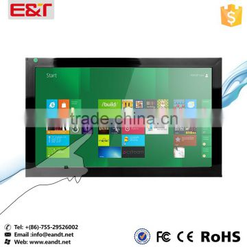 "27"" IR touch screen panel for outdoor usable waterproof for kiosks/digital signage/game machine/education"
