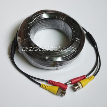 china factory waterproof monitor bnc DC power cable