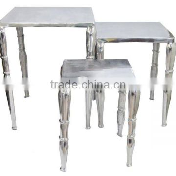Aluminum Nested Table