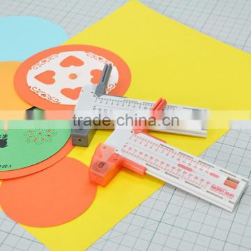 ECO Friendly Compass Divider Adjustable Paper Circle Cutter for School Office Home Crafting