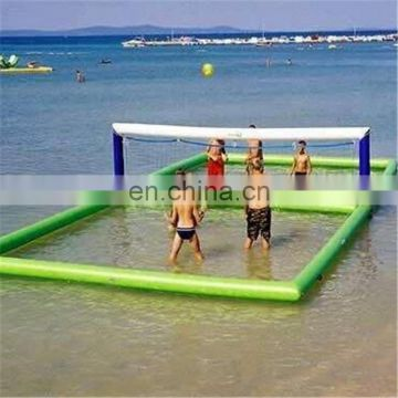 2017 Hot selling inflatable water volleyball court for For Sale