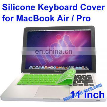 Silicone Keyboard Cover Dust Cover Protector Keyboard Skin for Macbook Pro/Air 11""