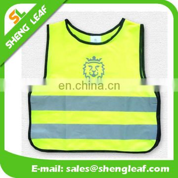Security EN471 High Visibility Yellow Reflective Safety Vest