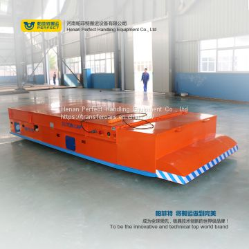 1-300 ton industrial material handling motorized battery powered trackless transfer trolley