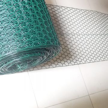 Hexagonal Wire Netting 1/2 Inch Pvc Coated Galvanized Chicken Wire Netting