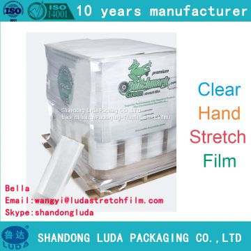 various customized machine LLDPE Stretch wrap film production process