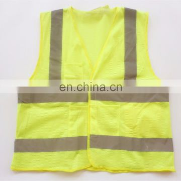Hi-Vis Safety Vest ,with Hi-Vis Reflective Tape