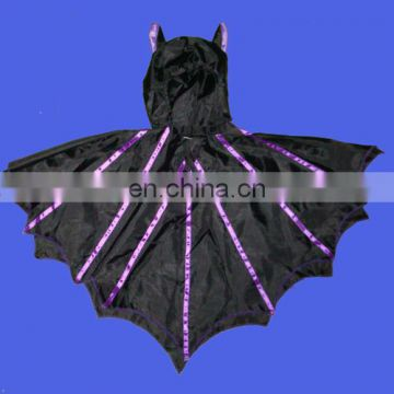 Hot selling black bat costume for kids