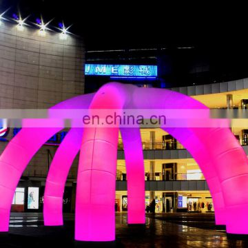 popular advertising inflatable arch with LED light with/inflatable arch with LED light/party decoration inflatable lighting arch
