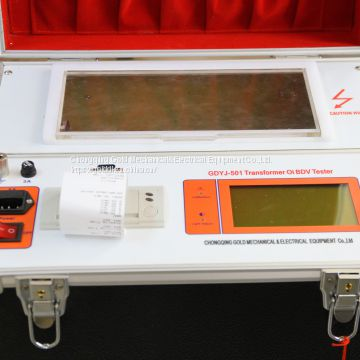 GDYJ-501Transformer Insulating Oil BDV and Dielectric Strength Tester