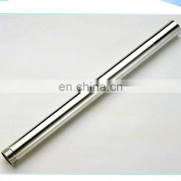 Round shape stainless steel tube / inox tube sch40