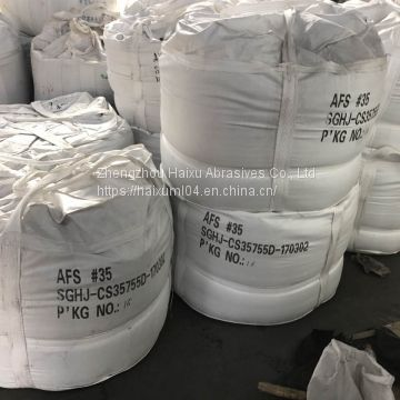 AFS45 AFS50 AFS60 AFS65 Fused ceramsite for heavy castings ceramic foundry sand
