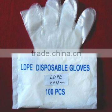 Free sample professional factory price disposable hdpe ldpe glove                                                                         Quality Choice