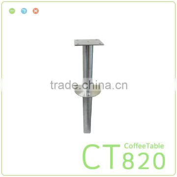 Stainless Steel Coffee Table Legs Inclined Furniture Hardware Leg