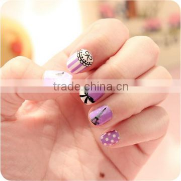 Hot sell sticker nail decals / free nail art stickers / Nail Sticker Decal