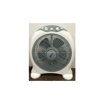12inch box fan with plastic body ABS front and PP back export to saudi