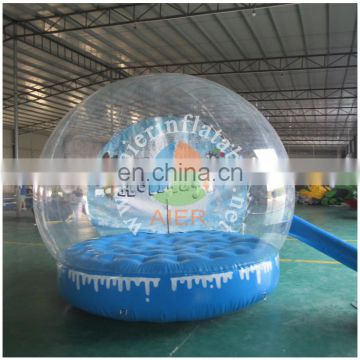 2016 Aier custom made snow globes inflatable human size snow globe for advertising