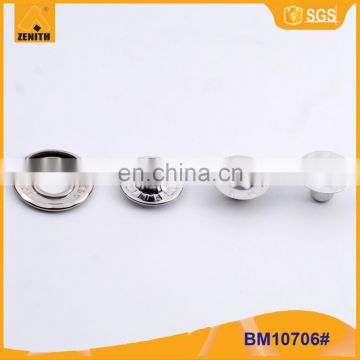 Press Brass Metal Snap Button With Customized Design BM10706