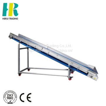 Vegetable lifting conveyor high efficiency elevator