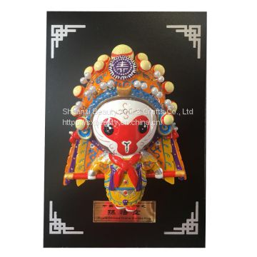 mythology figure of Story of a Journey to the West  chinese painted handcraft Ornaments  gift
