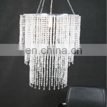 Acrylic Plastic Beaded Chandelier
