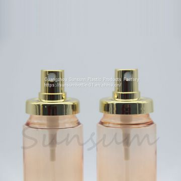 120ml Luxury Cosmetic Plastic PET Perfume Fine Mist Spray Bottle
