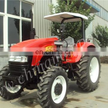 90HP 4WD Hydraulic Farm Tractor Diesel Tractor with Implements