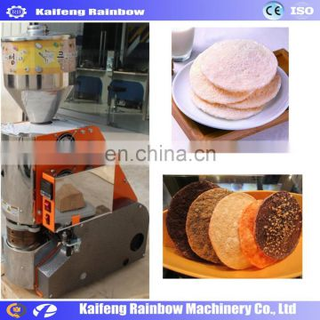 Automatic popped rice cracker making machine puffed rice cake making machines for sale