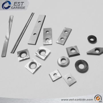 Tungsten Carbide Woodworking Insert Knives with Sharp Cutting Angle