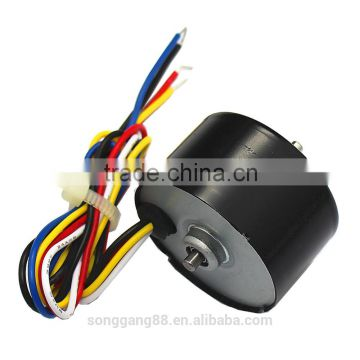 3000RPM high speed TK-RF520-3525 12V electric bicycle brushless dc motors  specifications