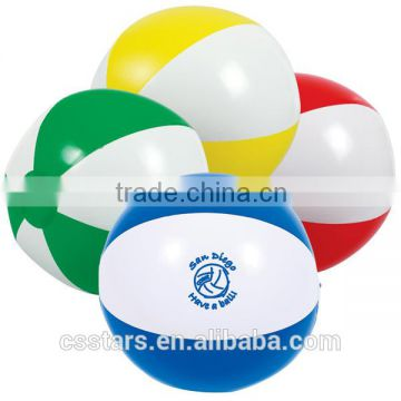 Multi Color Custom 2 Tone Beach Ball