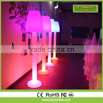 Wireless Rechargeable Plastic LED Floor Lamp