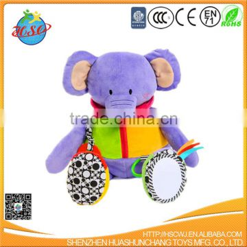 elephant animal shaped stuffed toy