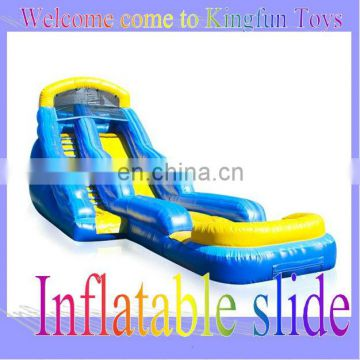 30L*14W feet water pool wet slideway inflatables