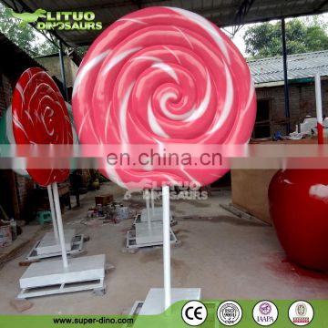 Gaint Size Resin Candy Statue Decoration
