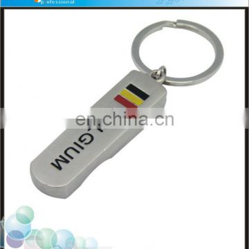 custom belgium surfboard bottle opener keychain for promotion