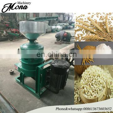 Hot selling maize skin peeling machine used for wheat mung bean soybean buckwheat easy to operate /rice peeling machine