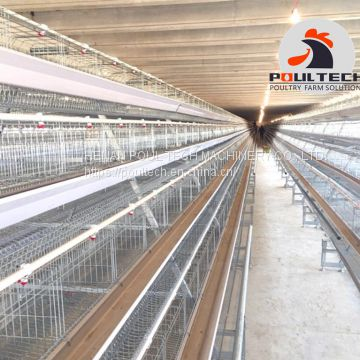 layer chicken cage equipment for poultry farm