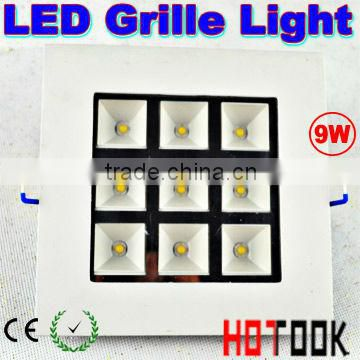 Warranty 2 years CE RoHS led grille lighting dimmable
