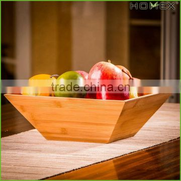 Bamboo Premium Quality Salad Bowl Set Homex BSCI/Factory