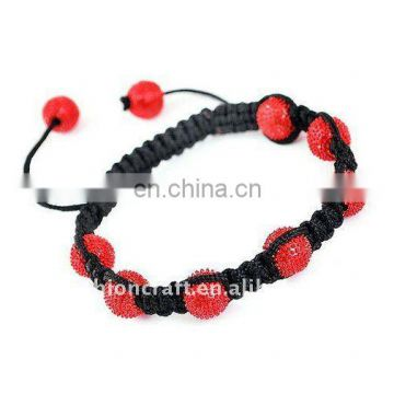 2012 Fashion shambala bead bracelets