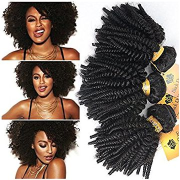 12 Inch Brazilian Natural Black Curly Human Hair Chocolate