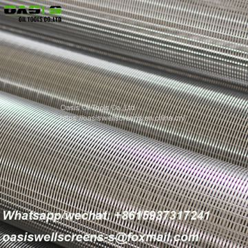 Stainless Steel AISI304L Gravel Prepacked Johnson Well Screens