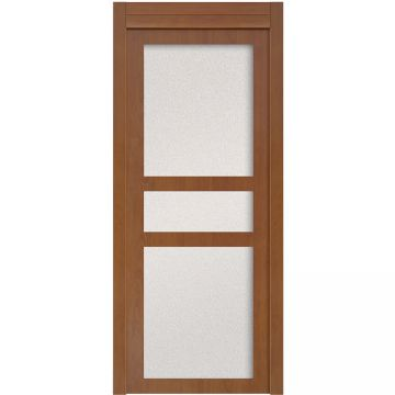 New Design White Sliding Waterproof Wpc Bathroom Door Design