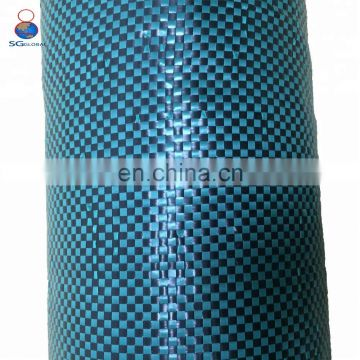 Black & green100% polypropylene fabric woven silt fence